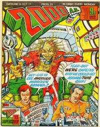 Cover Thumbnail for 2000 AD (IPC, 1977 series) #33