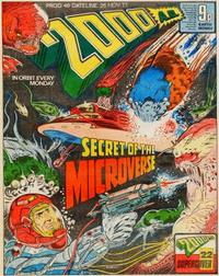 Cover Thumbnail for 2000 AD (IPC, 1977 series) #40