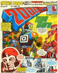 Cover Thumbnail for 2000 AD (IPC, 1977 series) #47