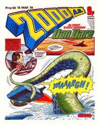 Cover Thumbnail for 2000 AD (IPC, 1977 series) #56