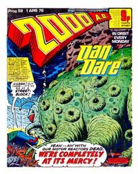 Cover Thumbnail for 2000 AD (IPC, 1977 series) #58