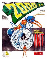 Cover Thumbnail for 2000 AD (IPC, 1977 series) #71