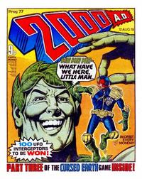 Cover Thumbnail for 2000 AD (IPC, 1977 series) #77
