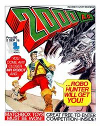 Cover Thumbnail for 2000 AD (IPC, 1977 series) #80
