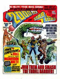 Cover Thumbnail for 2000 AD and Starlord (IPC, 1978 series) #86