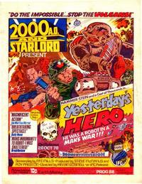 Cover Thumbnail for 2000 AD and Starlord (IPC, 1978 series) #88
