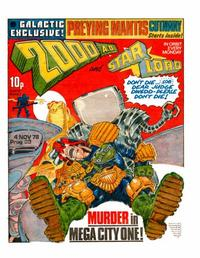 Cover Thumbnail for 2000 AD and Starlord (IPC, 1978 series) #89