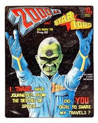 Cover Thumbnail for 2000 AD and Starlord (IPC, 1978 series) #92