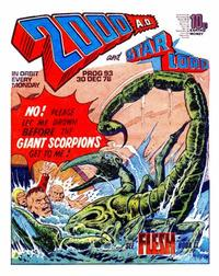 Cover Thumbnail for 2000 AD and Starlord (IPC, 1978 series) #93