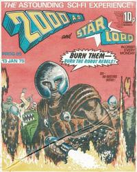 Cover Thumbnail for 2000 AD and Starlord (IPC, 1978 series) #95