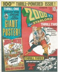 Cover Thumbnail for 2000 AD and Starlord (IPC, 1978 series) #100