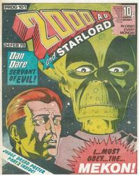 Cover Thumbnail for 2000 AD and Starlord (IPC, 1978 series) #101
