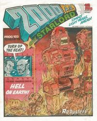 Cover Thumbnail for 2000 AD and Starlord (IPC, 1978 series) #103