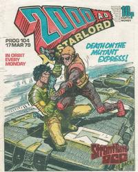 Cover Thumbnail for 2000 AD and Starlord (IPC, 1978 series) #104