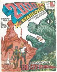 Cover Thumbnail for 2000 AD and Starlord (IPC, 1978 series) #107