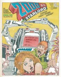 Cover Thumbnail for 2000 AD and Starlord (IPC, 1978 series) #108