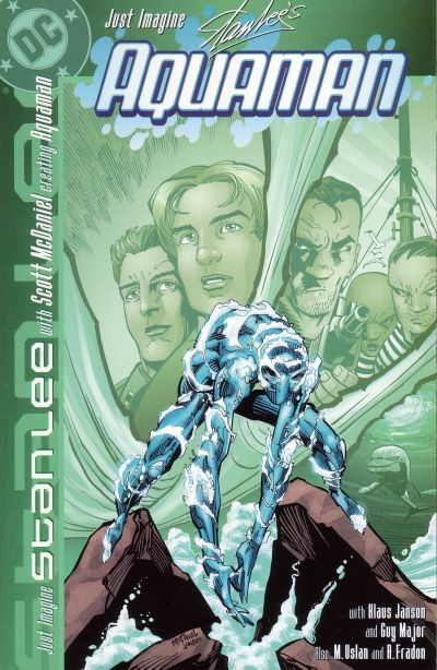 Cover for Just Imagine Stan Lee With Scott McDaniel Creating Aquaman (DC, 2002 series) #[nn]