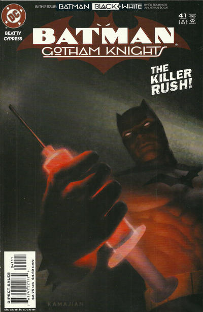 Cover for Batman: Gotham Knights (DC, 2000 series) #41