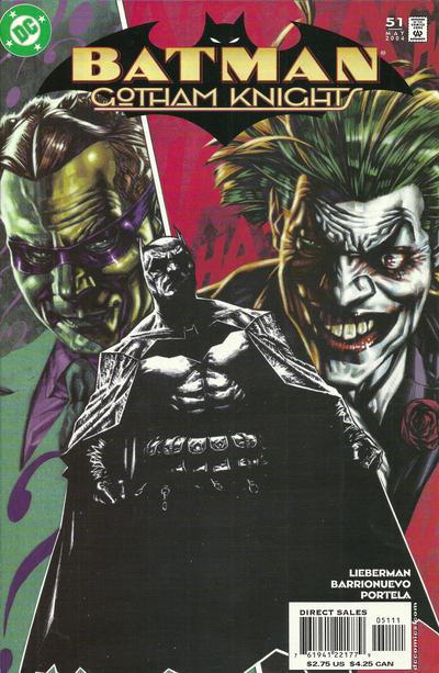 Cover for Batman: Gotham Knights (DC, 2000 series) #51