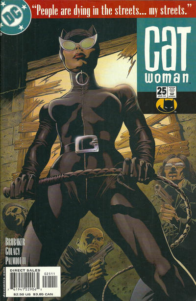 Cover for Catwoman (DC, 2002 series) #25
