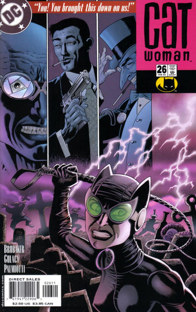 Cover for Catwoman (DC, 2002 series) #26