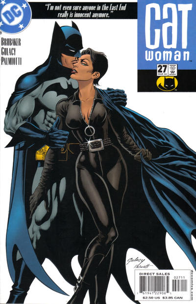 Cover for Catwoman (DC, 2002 series) #27