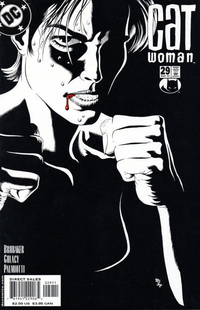 Cover for Catwoman (DC, 2002 series) #29