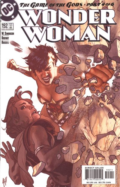 Cover for Wonder Woman (DC, 1987 series) #192