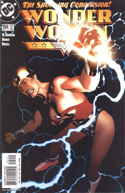 Cover for Wonder Woman (DC, 1987 series) #194 [Direct]