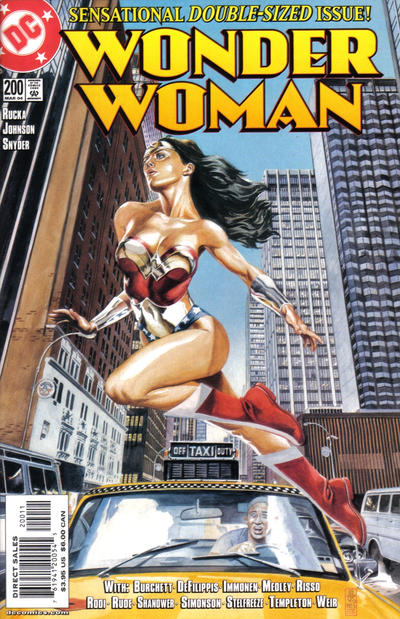 Cover for Wonder Woman (DC, 1987 series) #200 [Direct Edition]