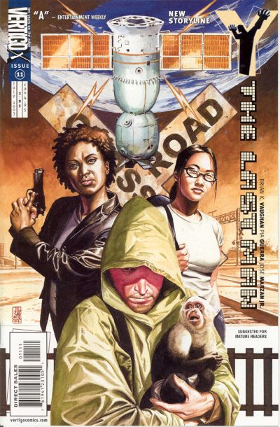 Cover for Y: The Last Man (DC, 2002 series) #11