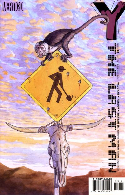 Cover for Y: The Last Man (DC, 2002 series) #22
