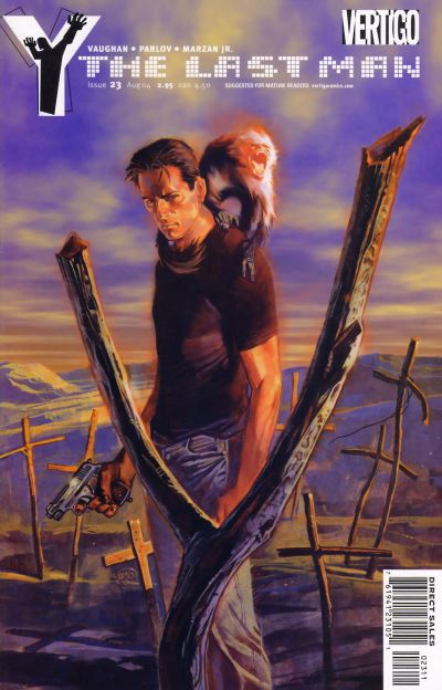 Cover for Y: The Last Man (DC, 2002 series) #23