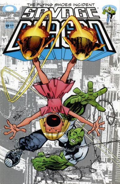 Cover for Savage Dragon (Image, 1993 series) #108