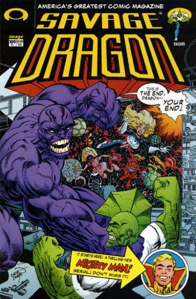 Cover for Savage Dragon (Image, 1993 series) #109