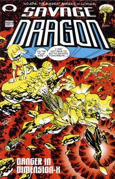 Cover for Savage Dragon (Image, 1993 series) #110