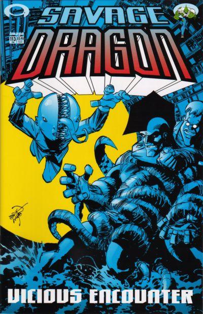 Cover for Savage Dragon (Image, 1993 series) #113