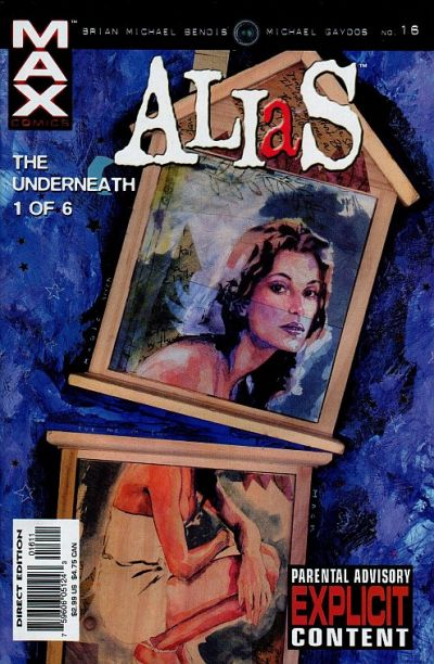 Cover for Alias (Marvel, 2001 series) #16