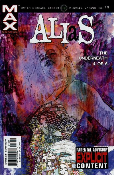 Cover for Alias (Marvel, 2001 series) #19