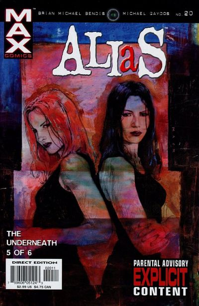 Cover for Alias (Marvel, 2001 series) #20
