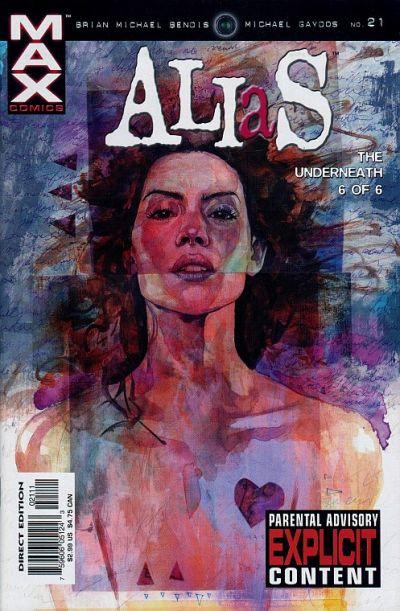 Cover for Alias (Marvel, 2001 series) #21