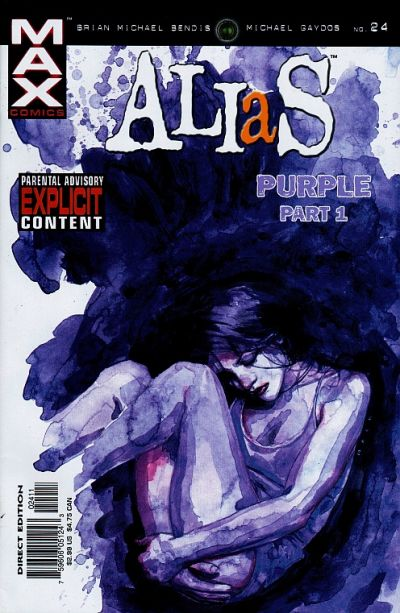 Cover for Alias (Marvel, 2001 series) #24