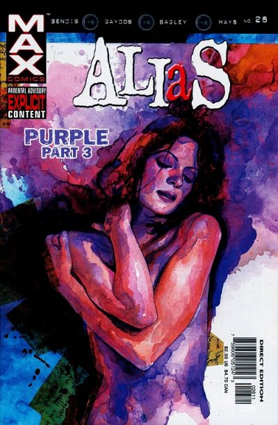 Cover for Alias (Marvel, 2001 series) #26