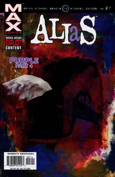 Cover for Alias (Marvel, 2001 series) #27