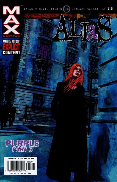 Cover for Alias (Marvel, 2001 series) #28