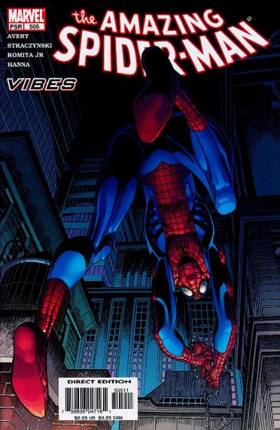 Cover for The Amazing Spider-Man (Marvel, 1999 series) #505 [Direct Edition]