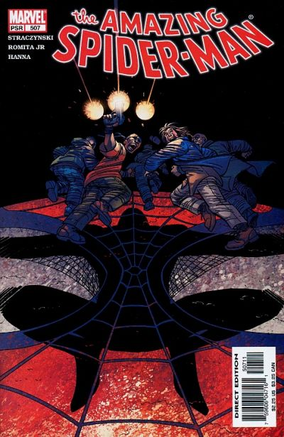Cover for The Amazing Spider-Man (Marvel, 1999 series) #507 [Direct Edition]