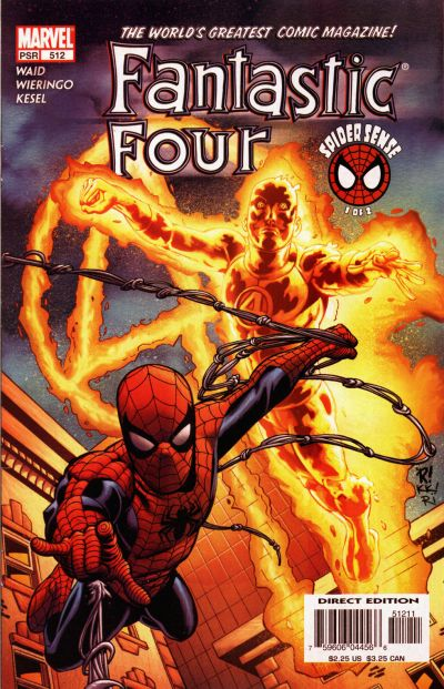 Cover for Fantastic Four (Marvel, 1998 series) #512 [Direct Edition]