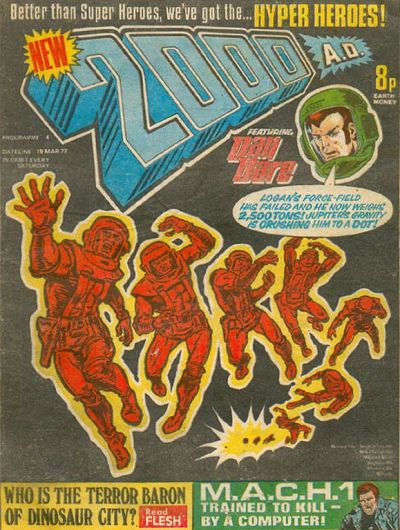 Cover for 2000 AD (IPC, 1977 series) #4
