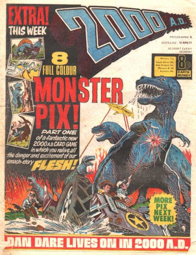 Cover for 2000 AD (IPC, 1977 series) #8